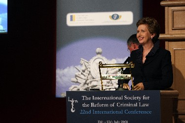 The President of Ireland, Mrs Mary McAleese