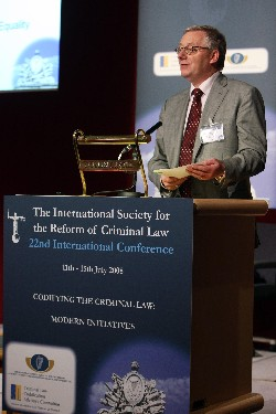 Mr Sean Aylward, Secretary General, Department of Justice, Equality and Law Reform